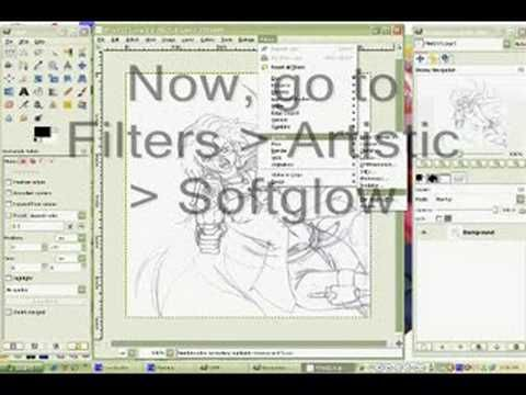 How To Clean Up A Scanned Drawing With The Gimp Image Editor Gimp Tutorial Photoshop Elements Tutorials Gimp