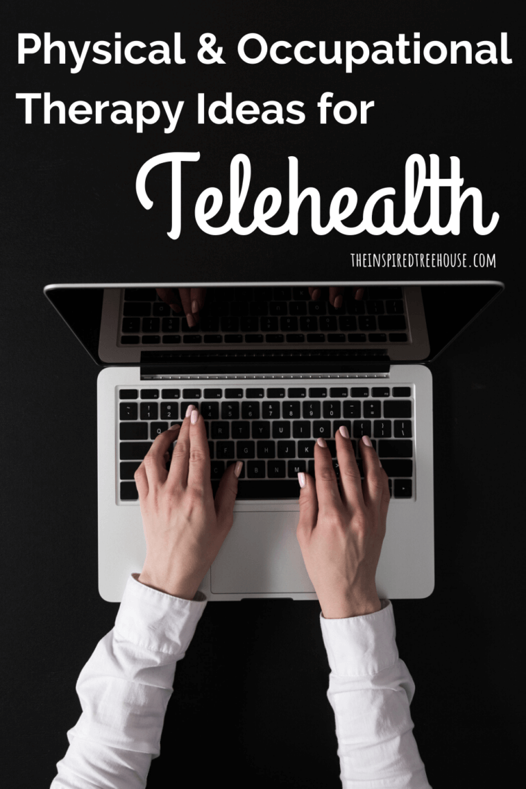 A New Approach: Telehealth Physical Therapy and Occupational Therapy - The Inspired Treehouse
