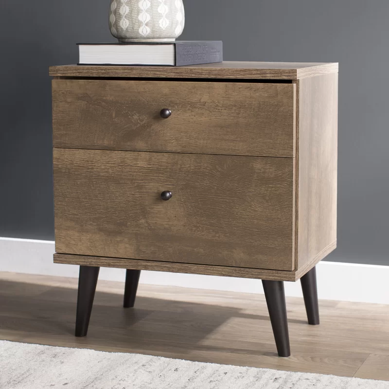 Noah 2 Drawer Nightstand In 2020 2 Drawer Nightstand Nightstand