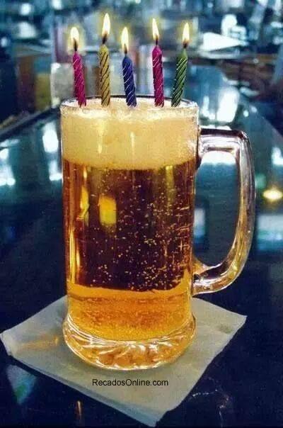 Birthday Beer Happy Cards
