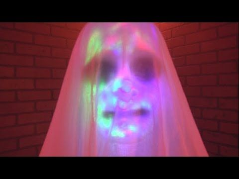 Hanging Phantom Ghost Decoration - YouTube Halloween Animated