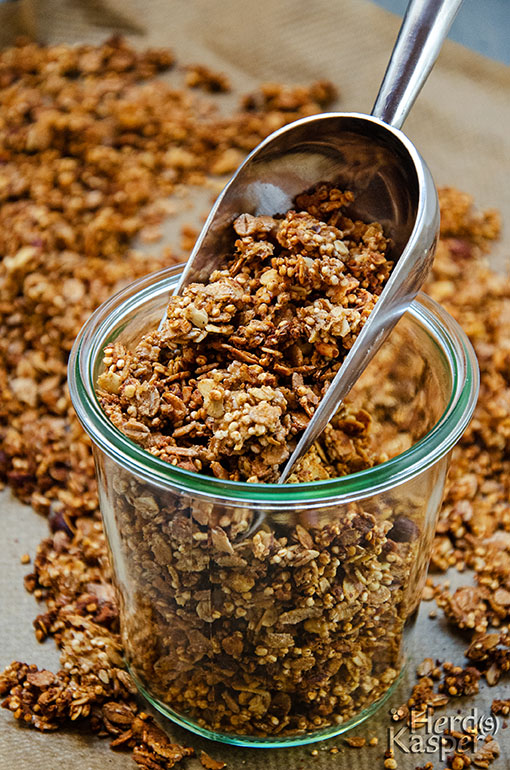 Photo of Homemade: Crunchy Apple-Cinnamon-Muesli – Herd (s) Kasper