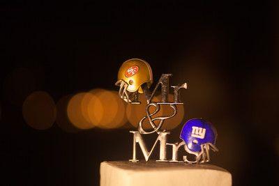 Football cake topper! Adventure weddings at Las Caletas, Puerto Vallarta, Mexico