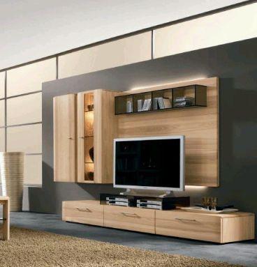 Resultado de imagen para muebles para tv modernos para for Modelos de muebles para tv modernos