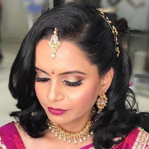 Maharashtrian Wedding Hairstyles For Short Hair