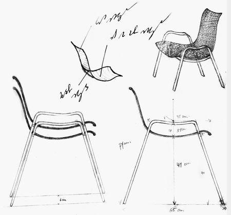 Skizze Landi Stuhl Coray Chairs In 2019 Chair Sketches Und
