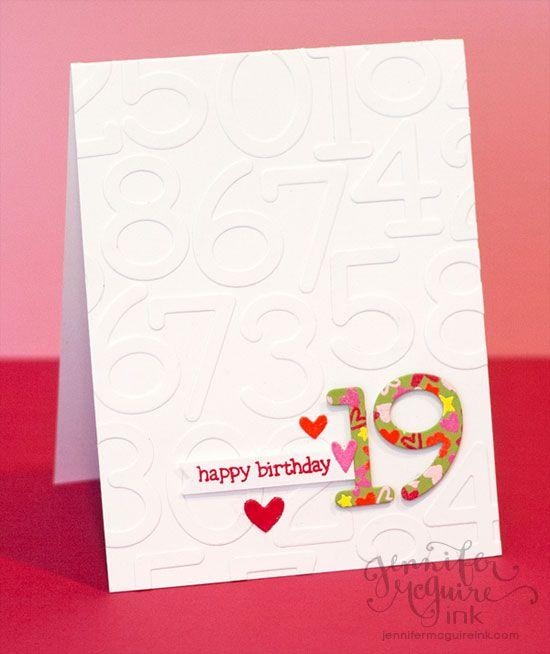 Video Diy Embossed Patterned Paper 3 Cards Giveaway Jennifer