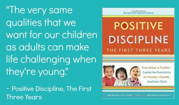 Sunny Day Family: Positive Parenting: A Review of Positive Discipline, The First Three Years