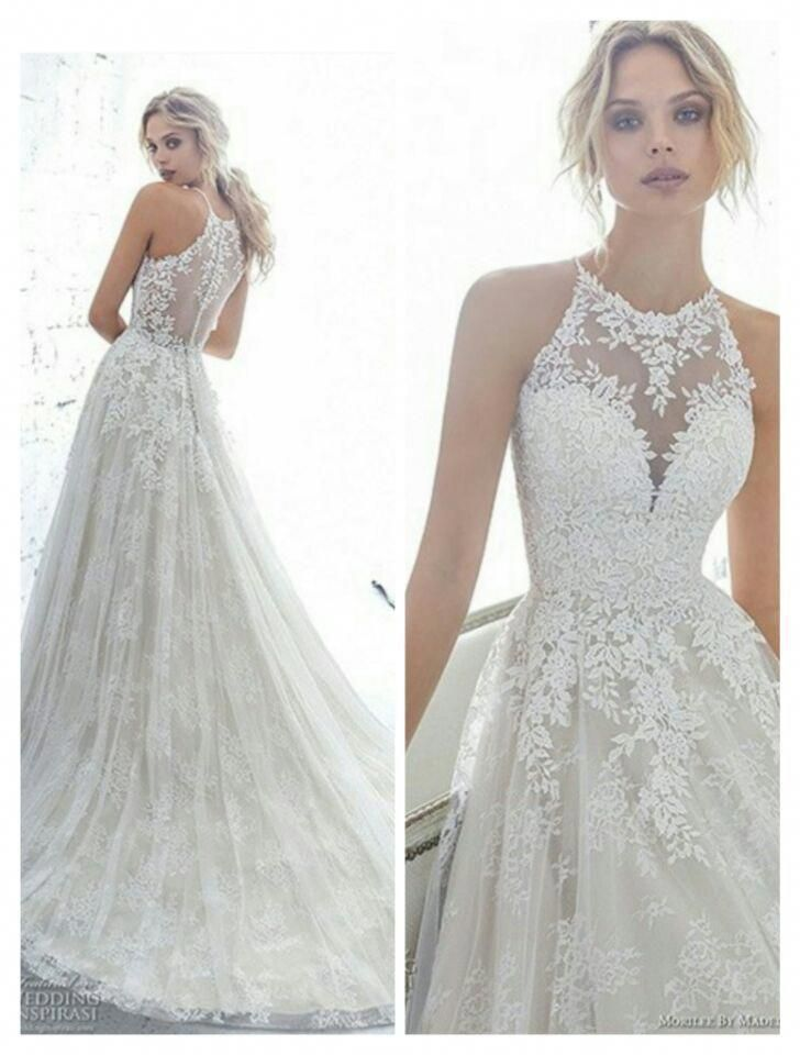 Lace Weddings Wedding Dresses Wedding Dresses Lace Wedding Gown Styles Halter Weddi Wedding Dresses Lace Lace Wedding Dress Vintage Wedding Dresses Size 14