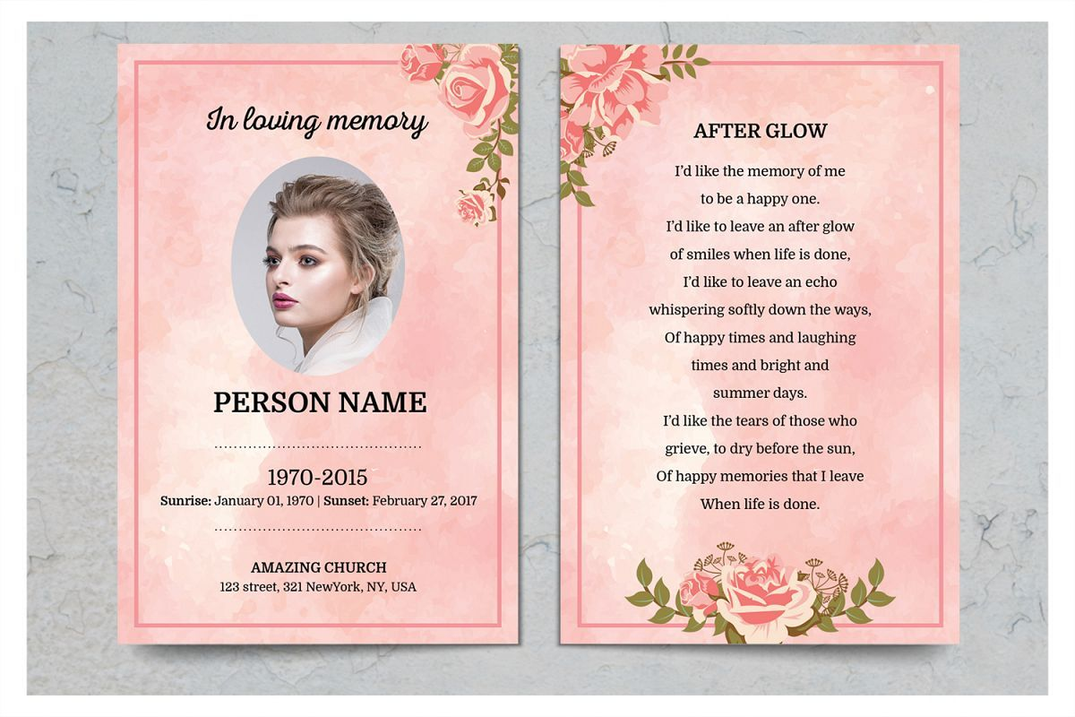 The Astounding 015 In Loving Memory Templates Template Awful Ideas Bookmark For In Memory Cards Te Memorial Cards For Funeral Card Templates Free Funeral Cards