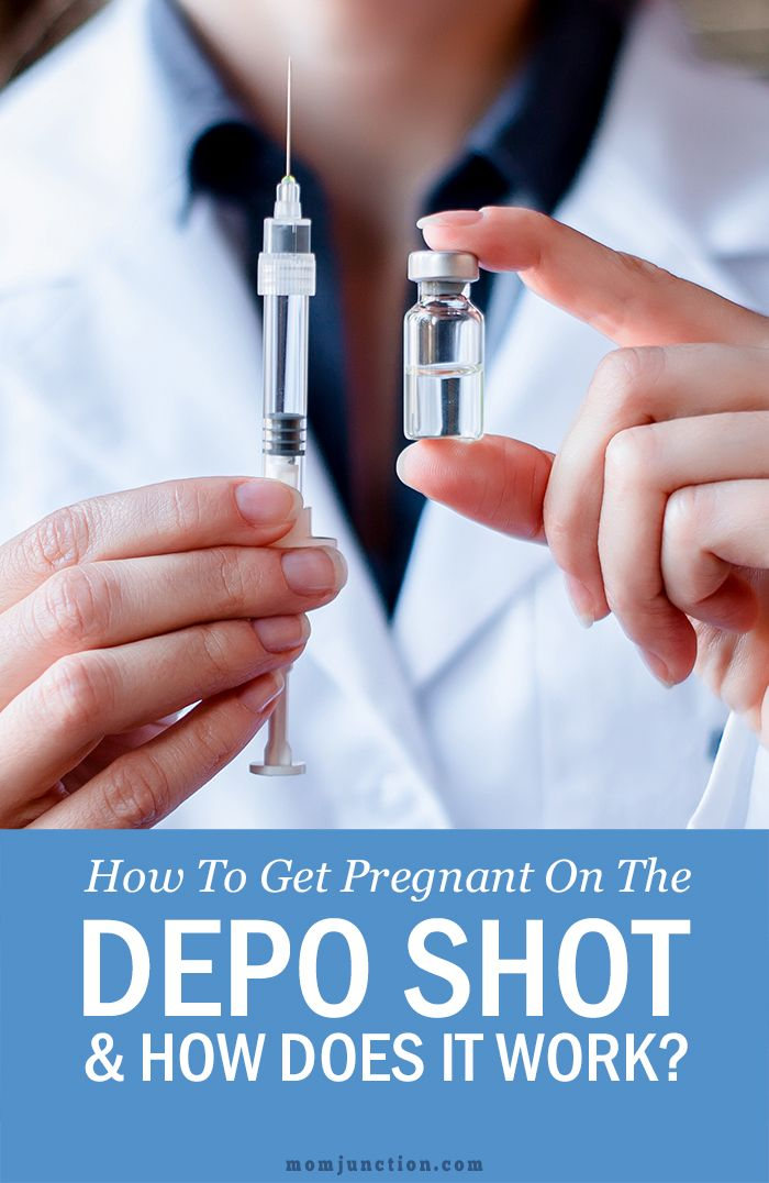 How To Avoid/ Get Pregnant On Depo Shot   Getting pregnant ...