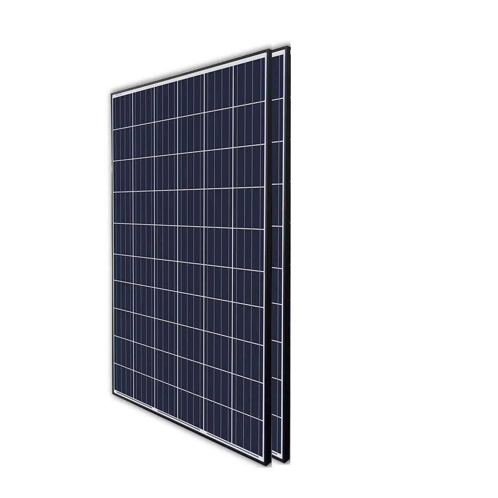 Renogy 270 Watt 24 Volt Polycrystalline Solar Panel For Residential Commercial Rooftop Back Up Off Grid Application Pack Of 2 Rng 270px2 Solar Panels Best Solar Panels Solar