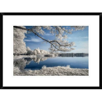 """Global Gallery 'Irenkowo' by Piotr (Bax) Krol Framed Photographic Print Size: 20.7"""" H x 28"""" W x 1.5"""" D"""
