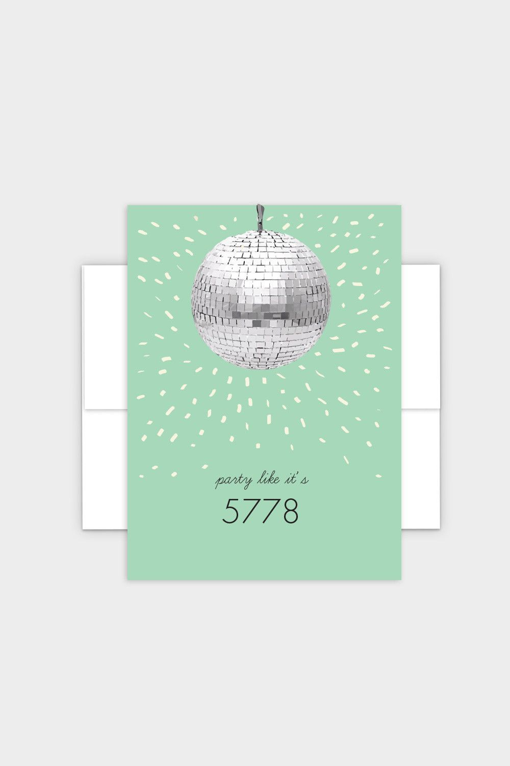 Party Like Its 5779 Rosh Hashanah Greeting Card In 2018