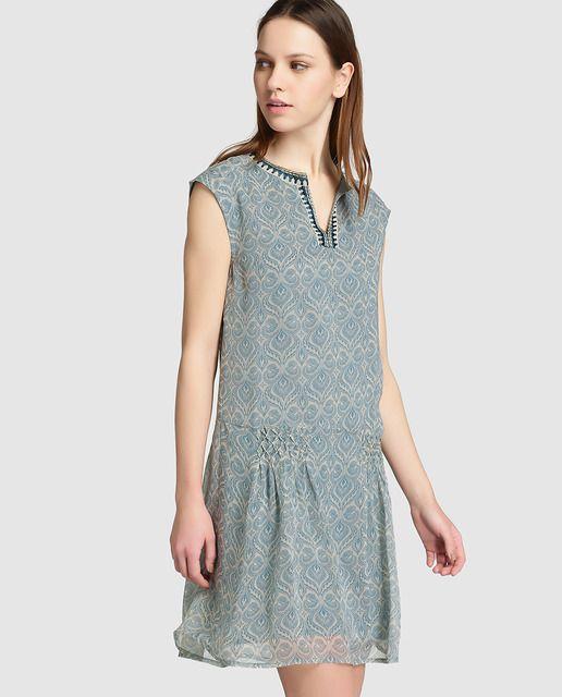 vestidos de talle bajo para mujer