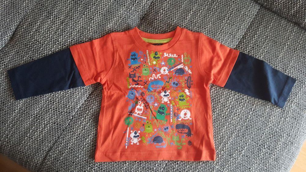 Tolles Langarm-Shirt von Minoti, Gr.68/80, Jungen