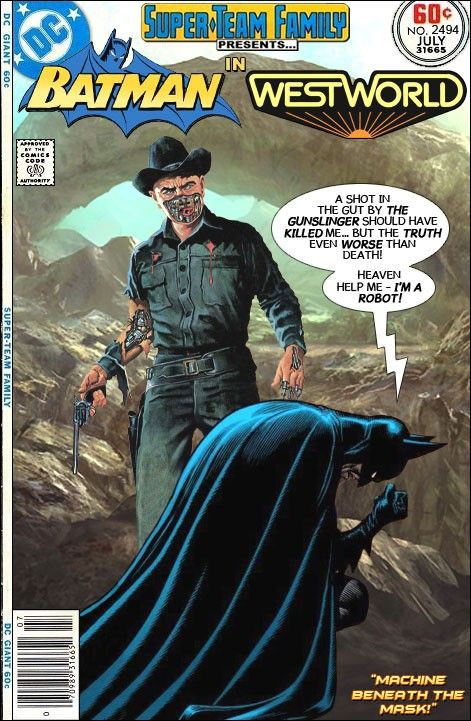 Batman By Aaron Konopasky On Fake Covers Westworld Dark