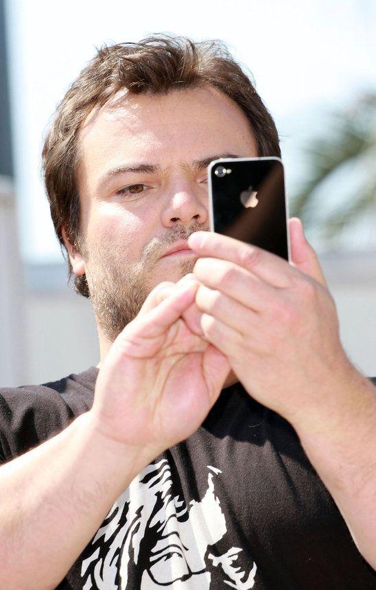 Jack Black Iphone Screen Repair Celebrity Photographers Jack Black