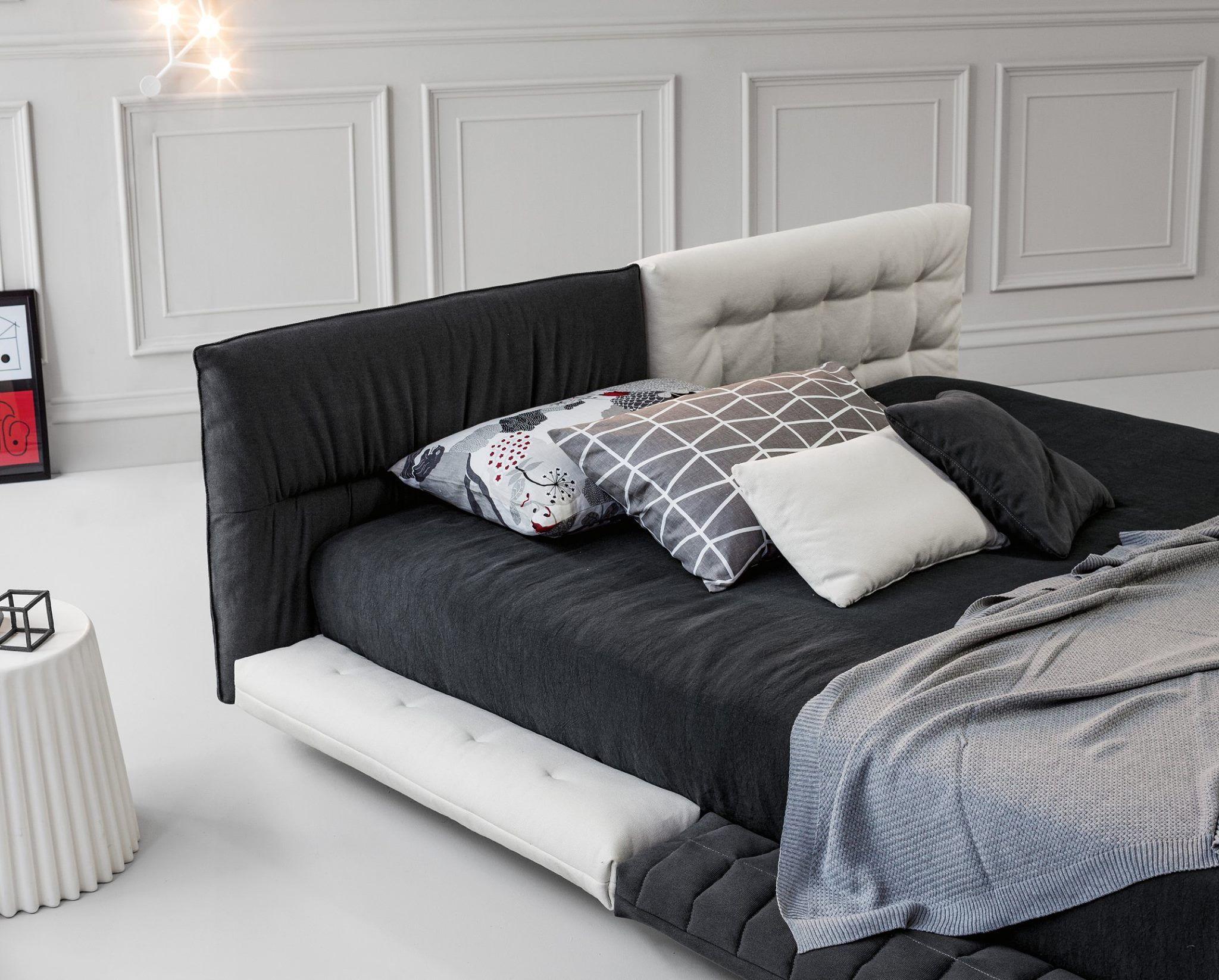 alvar #design giuseppe viganò per #bonaldo | amazing bedroom ... - Letto Imbottito Grigio Bloom Bonaldo