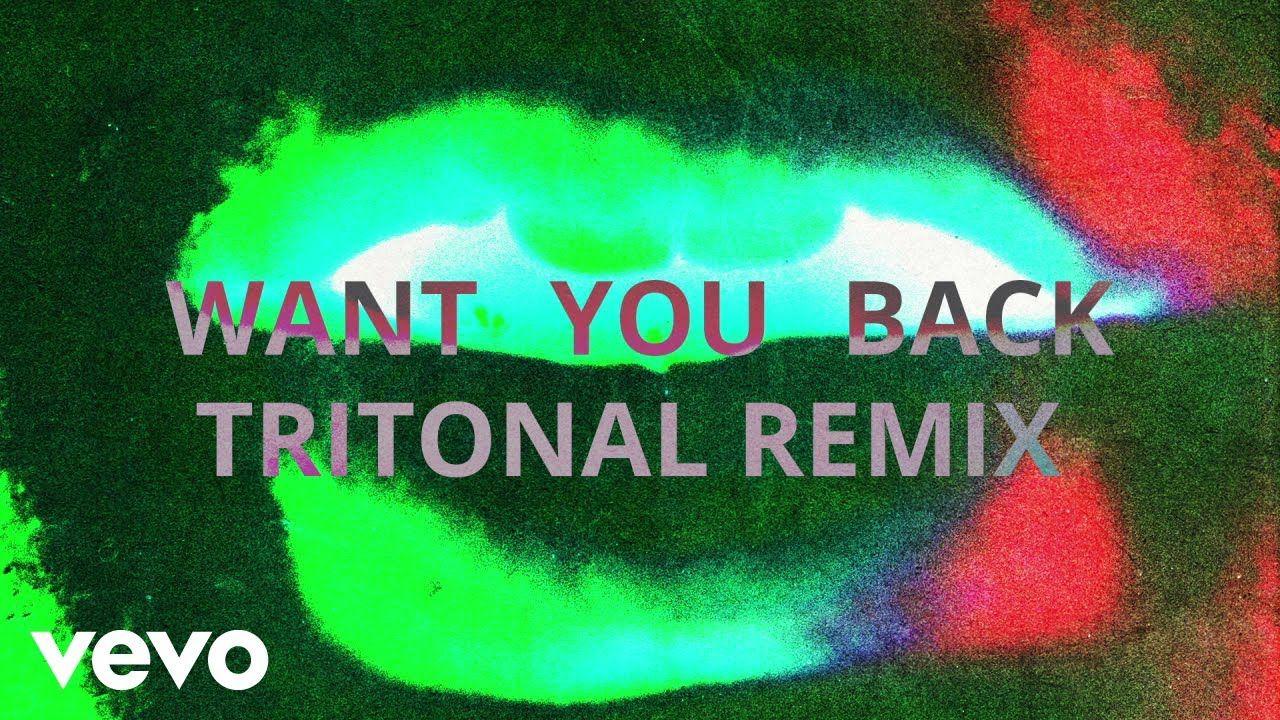 5 Seconds Of Summer Want You Back Tritonal Remix