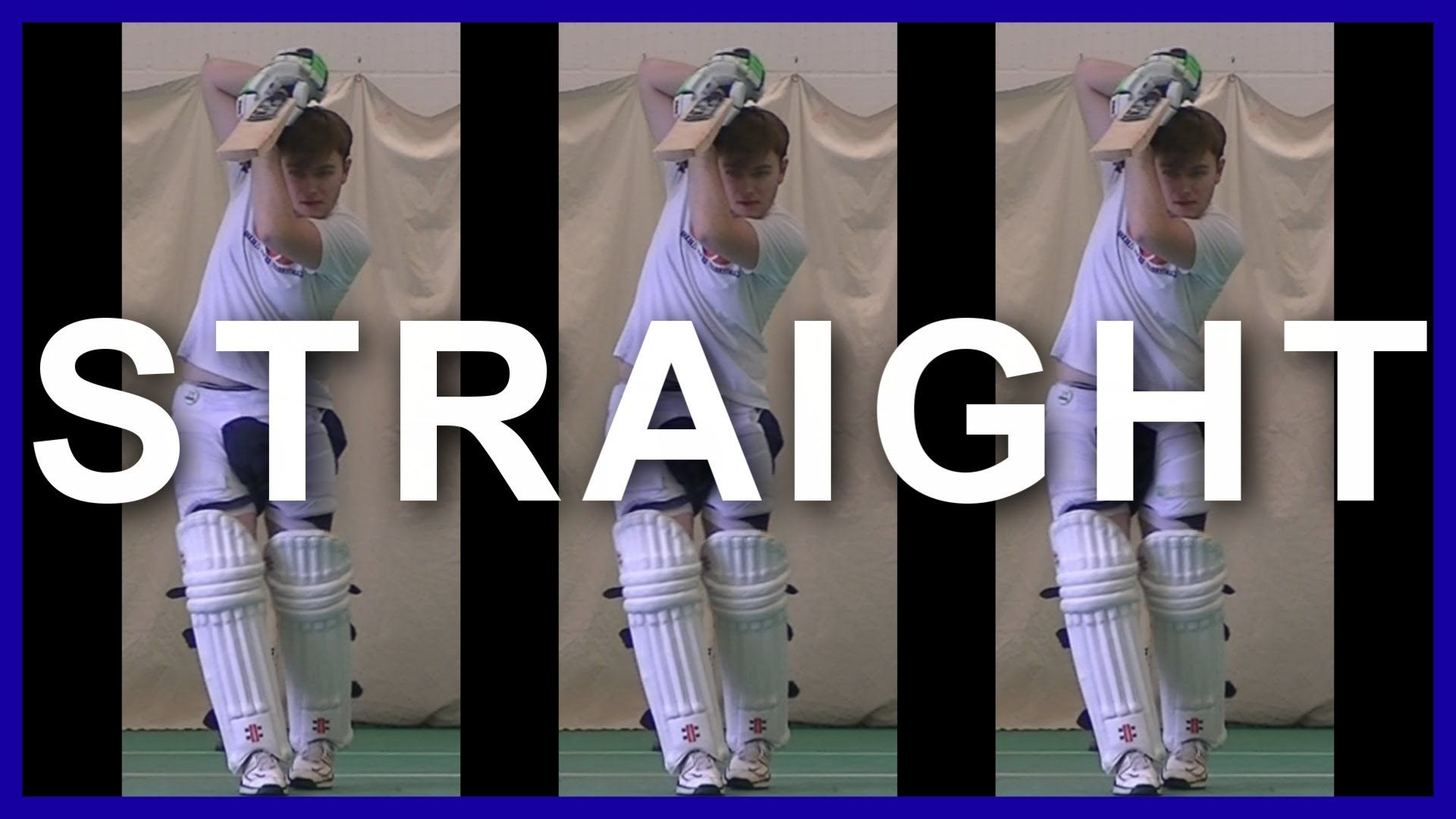 Cricket Training Batting Tips Drilling How To Play Straight Balls In Cricket Cricket Coaching Cricket Drill