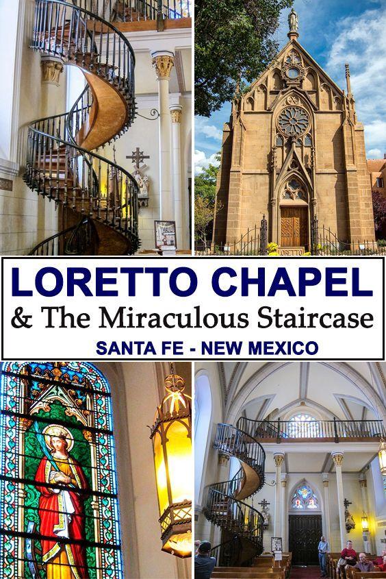 Best Loretto Chapel Church The Famous Spiral Staircase Santa 640 x 480