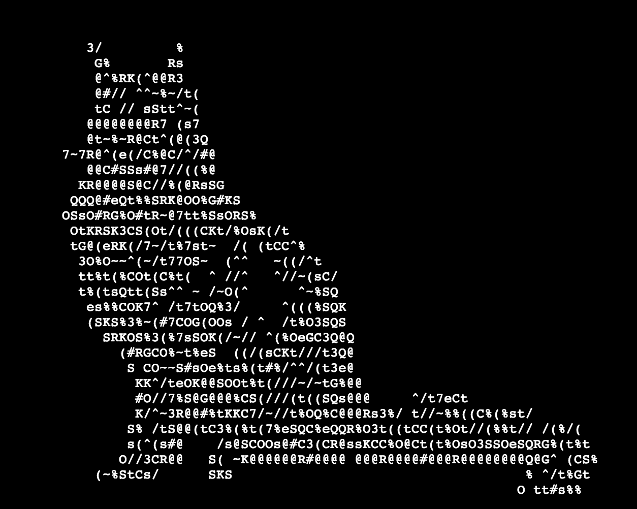 Ascii Cat Art Ascii Art Ascii Cat Art