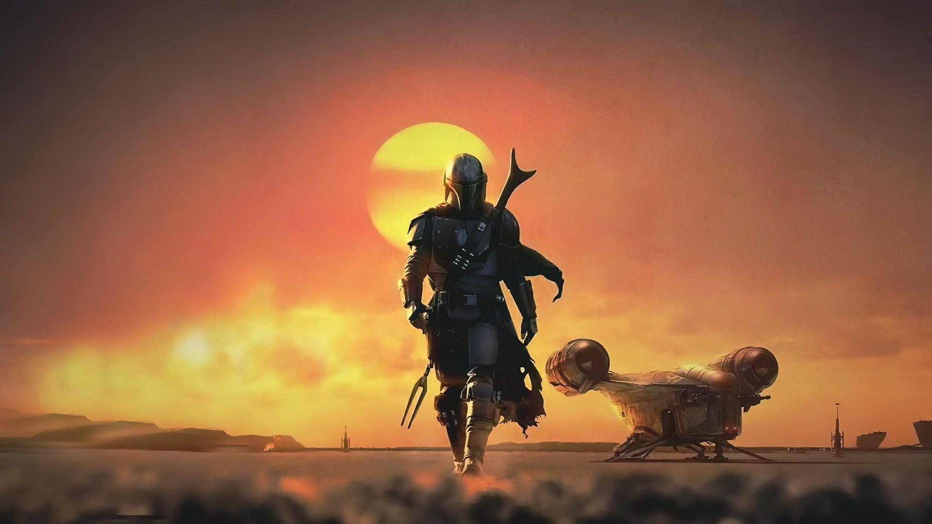 The Mandalorian Star Wars Science Fiction Bounty Hunter 1080p