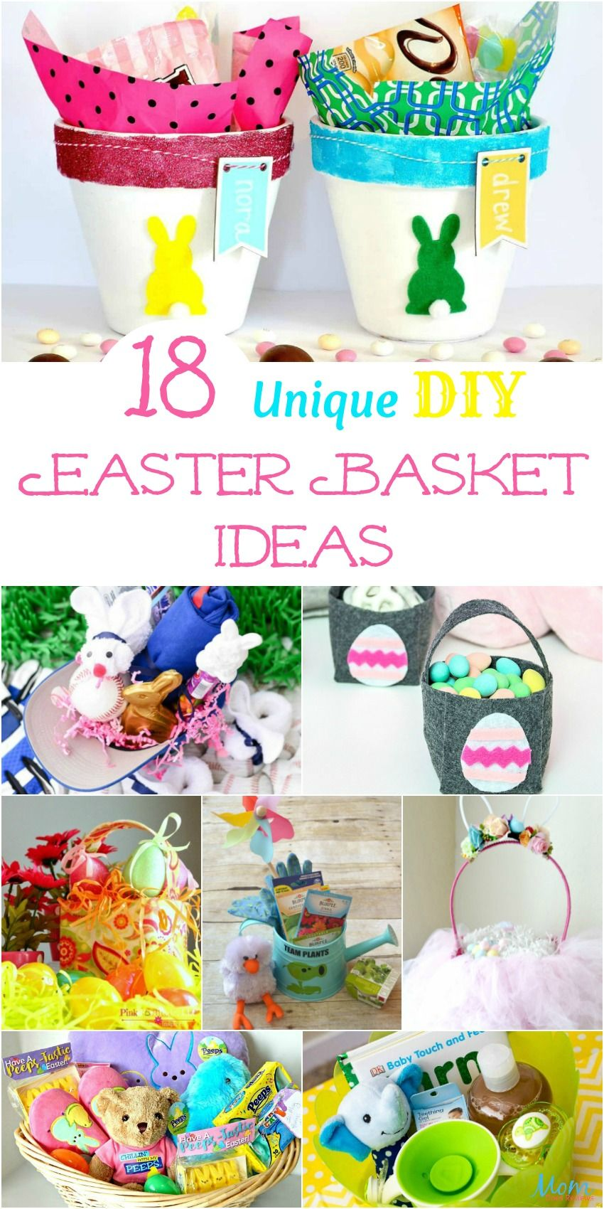18 Cute Diy Girly Home Decor Ideas: 18 Unique DIY Easter Basket Ideas Too Cute Not To Try