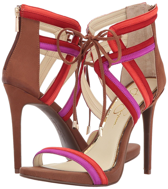 c8ba3937299 Jessica Simpson Women s Rensa Heeled Sandal