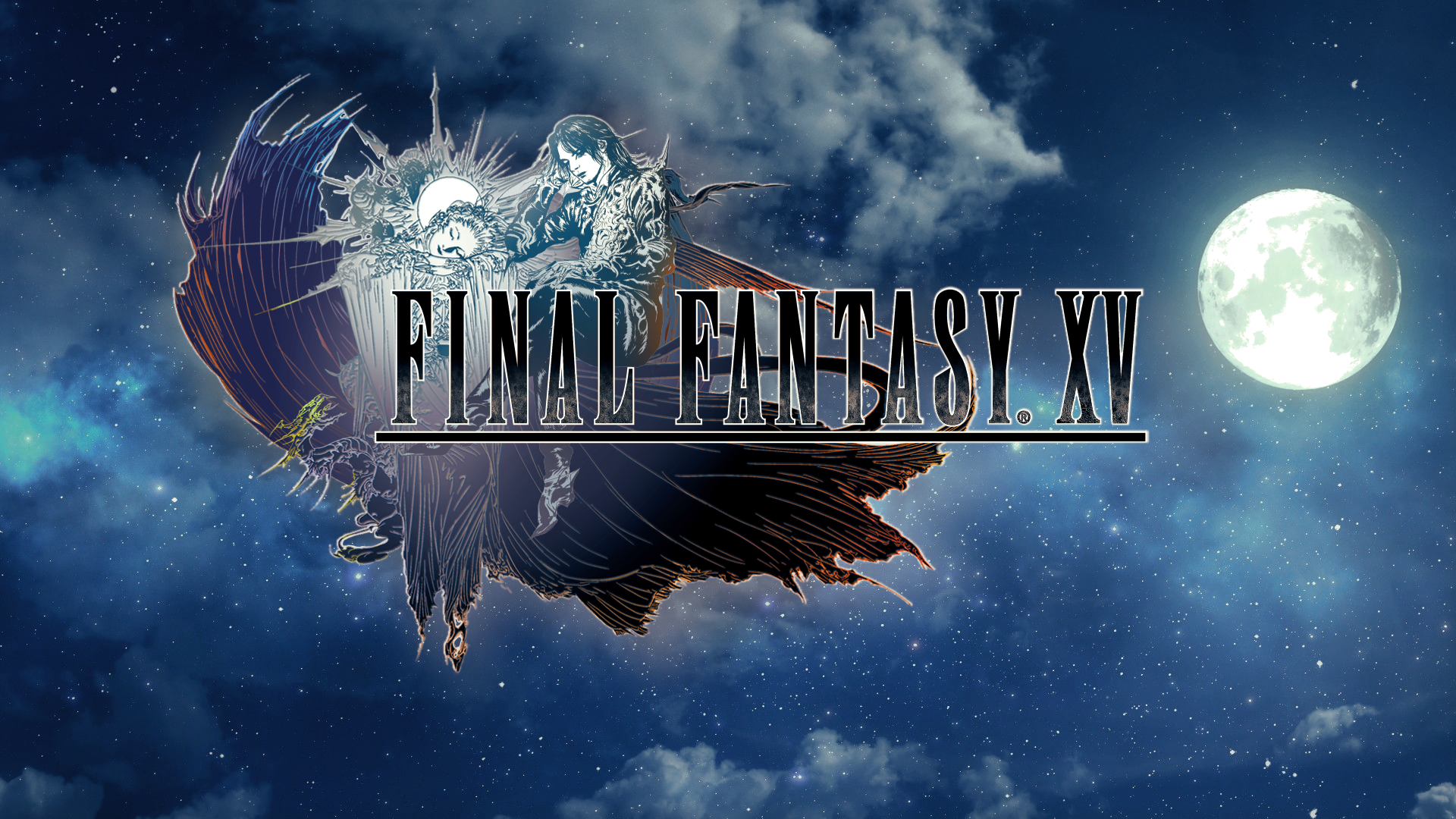 Spoiler Ffxv Edited Endgame Logo Wallpaper 1920x1080 Need