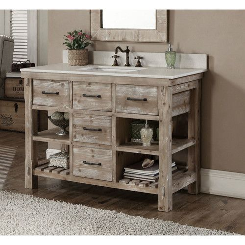Wayfair Bathroom Vanity >> Found It At Wayfair Wk Series 49 Single Bathroom Vanity