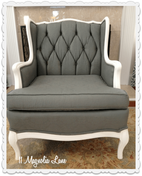 Furniture Upholstry: Tutorial: How To Paint Upholstery Fabric And Completely