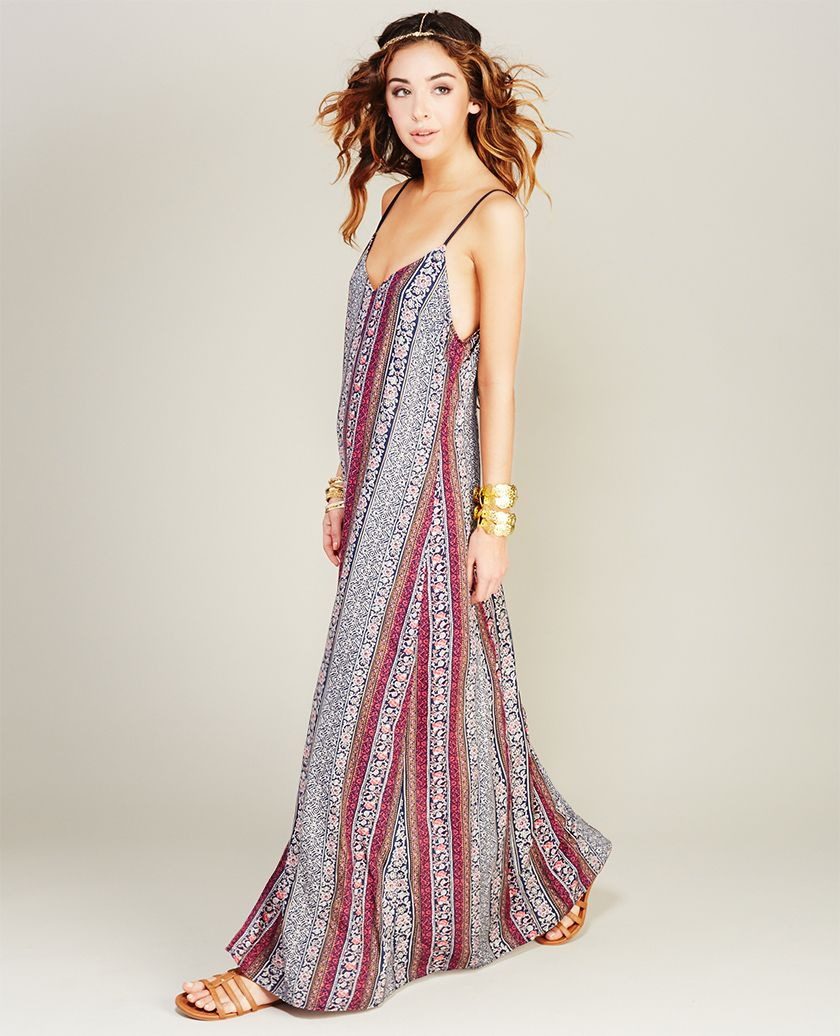 Boho Maxi Dress (3)