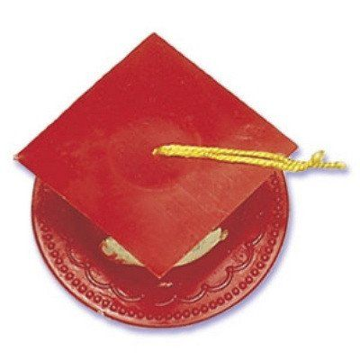 Photo of Graduation Cap Red