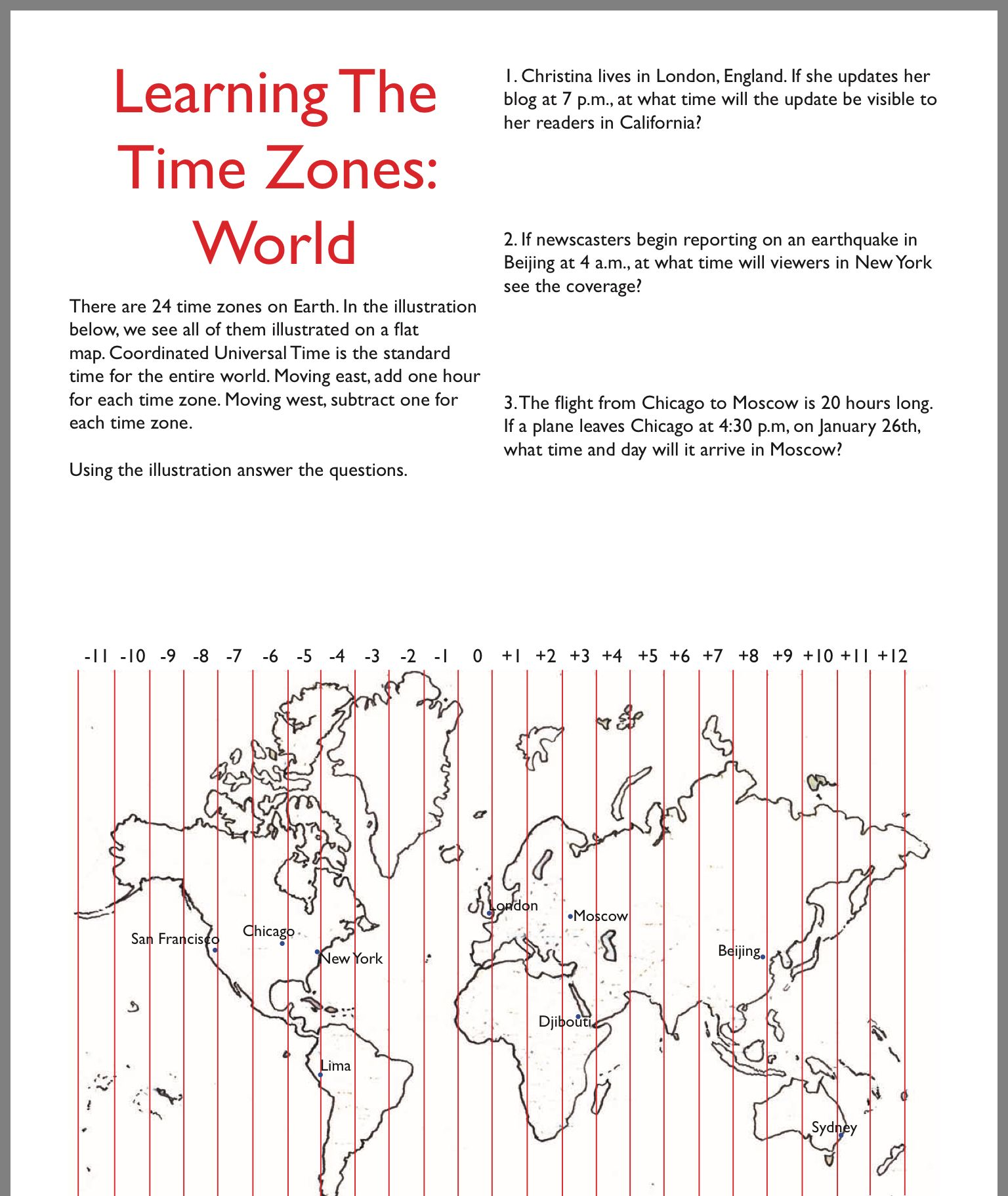 London Life By Rebecca Brownlie On Time Zones