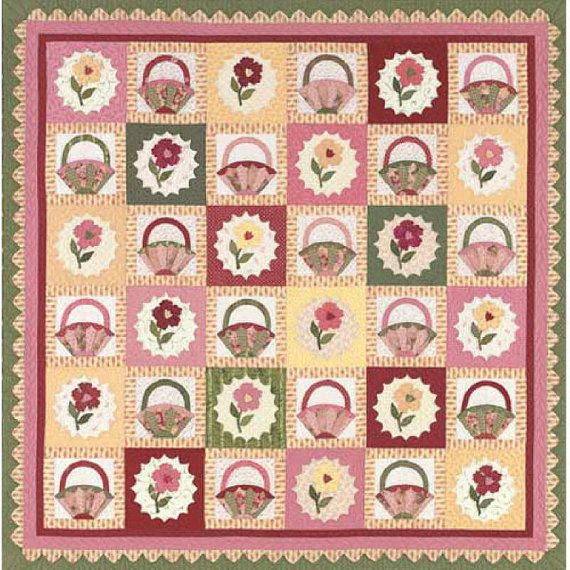 Simply Romantic Quilt Pattern By Peggy Waltman Patterns