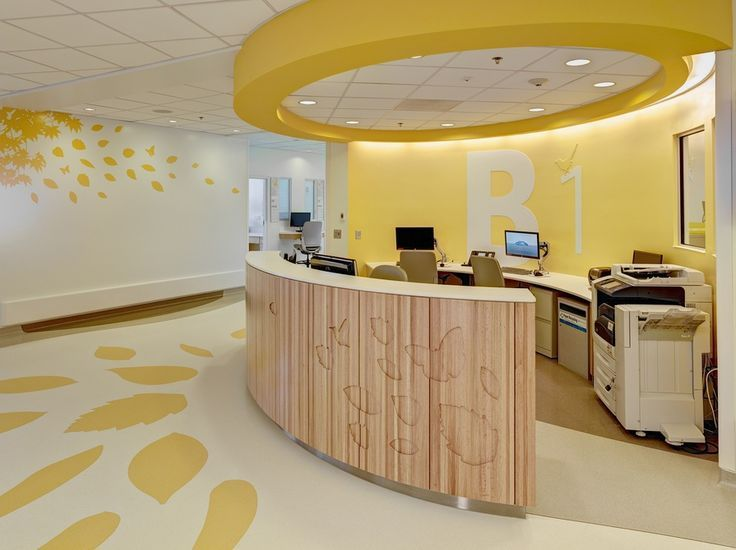 Nurse's Station, Nationwide Children's Hospital, Columbus ...