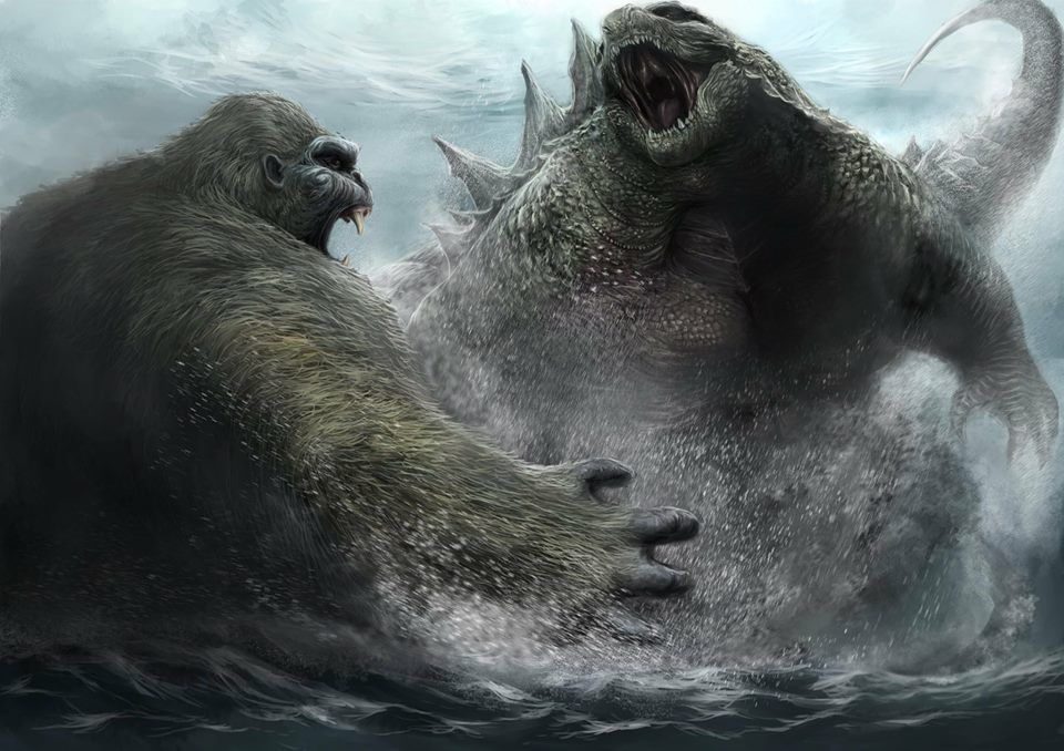 Godzilla Vs King Kong Coming Soon Monstruo Pelicula Criaturas Fantasticas Godzilla