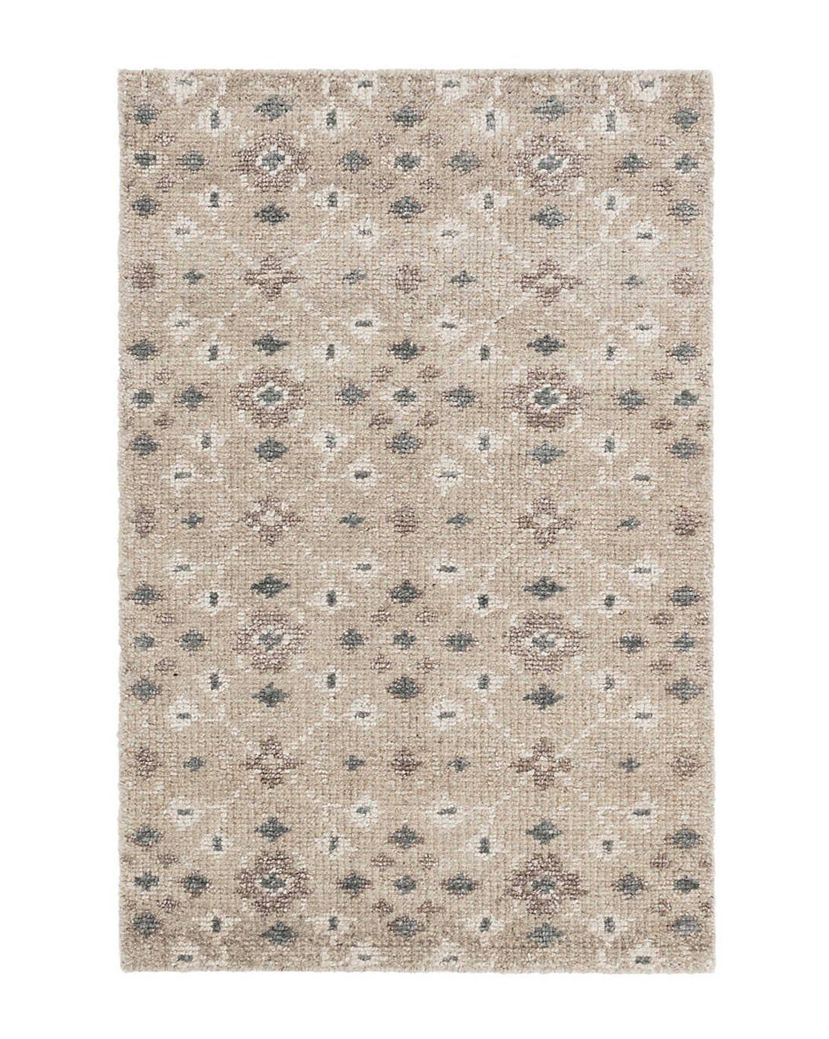 Florence Hand Knotted Rug Mcgee Co Hand Knotted Rugs Rugs Rug Pattern