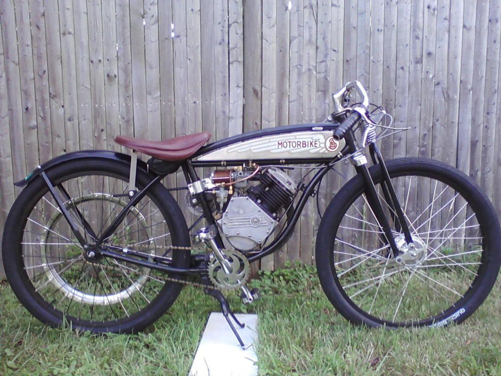 1950 Panther Whizzer Motorized Bicycle Powered Bicycle Gas Powered Bicycle