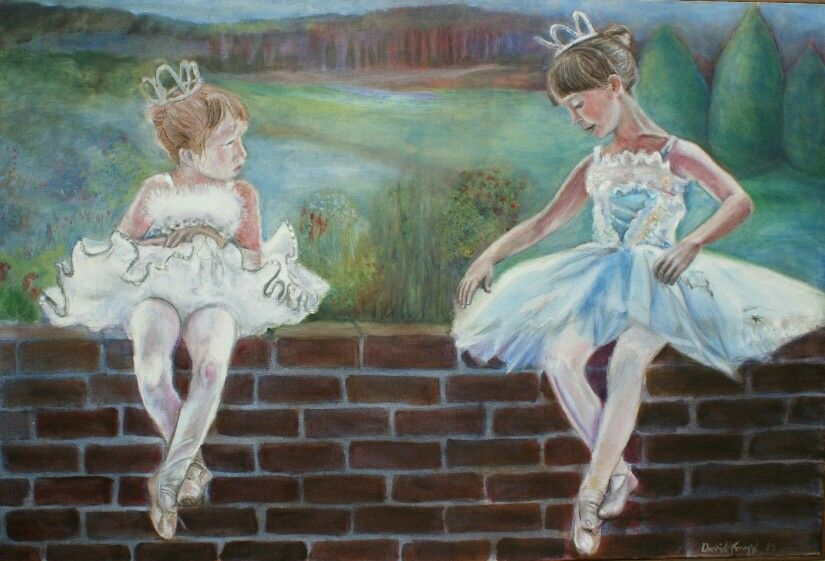 Ballerinas by David Knopf