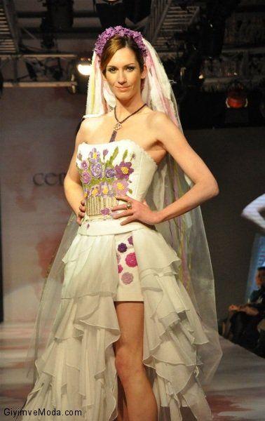 Cemil İpekçi SS 2012 (Wedding Dress)  www.giyimvemoda.com