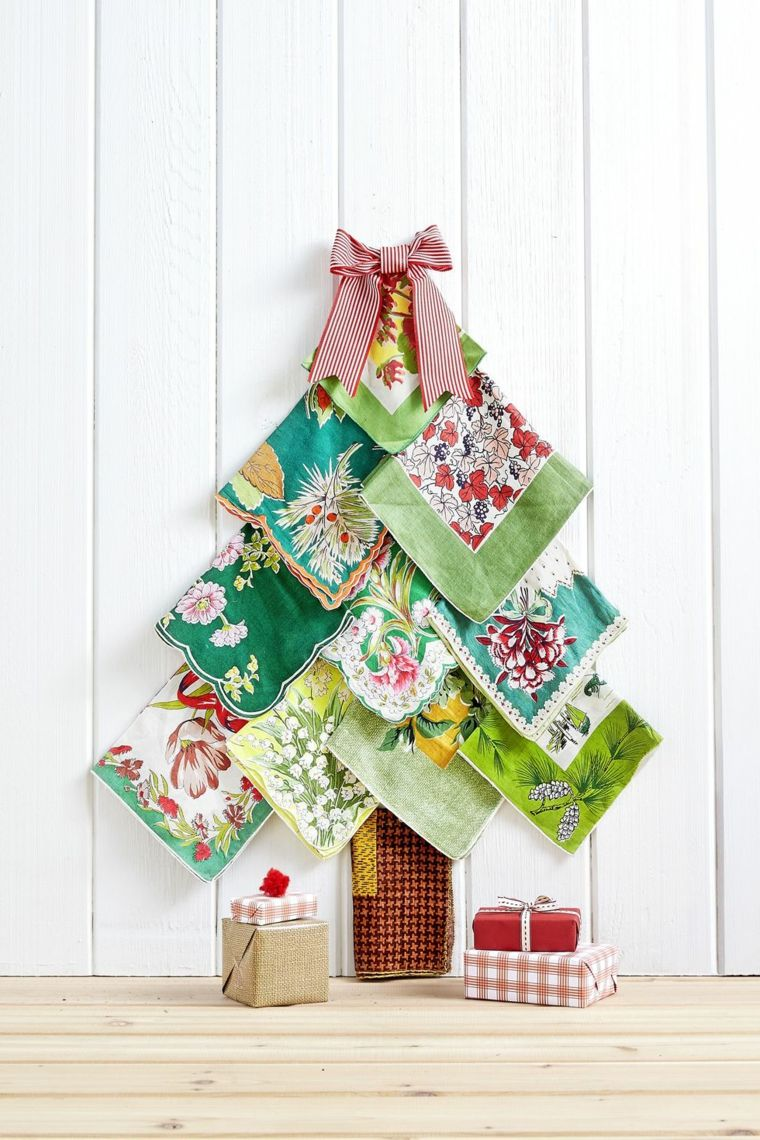 Decorazioni natalizie fai da te tutorial con un albero di for Decorazioni fai da te