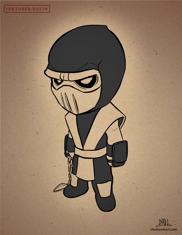 Inktober 29 Chibi Scorpion By Chadwick J Coleman Drawing