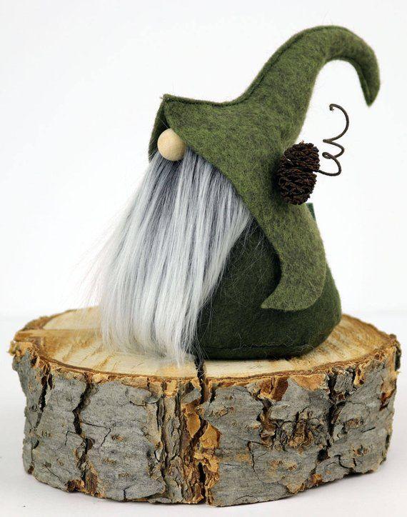 Christmas Gnomes Pinterest.Elf Gnome Nordic Elfin Gnome Fimni Friend Gifts Home Etsy