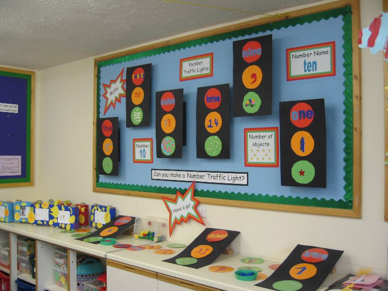 Classroom Management Ideas Ks1 ~ Number traffic lights classroom display photo