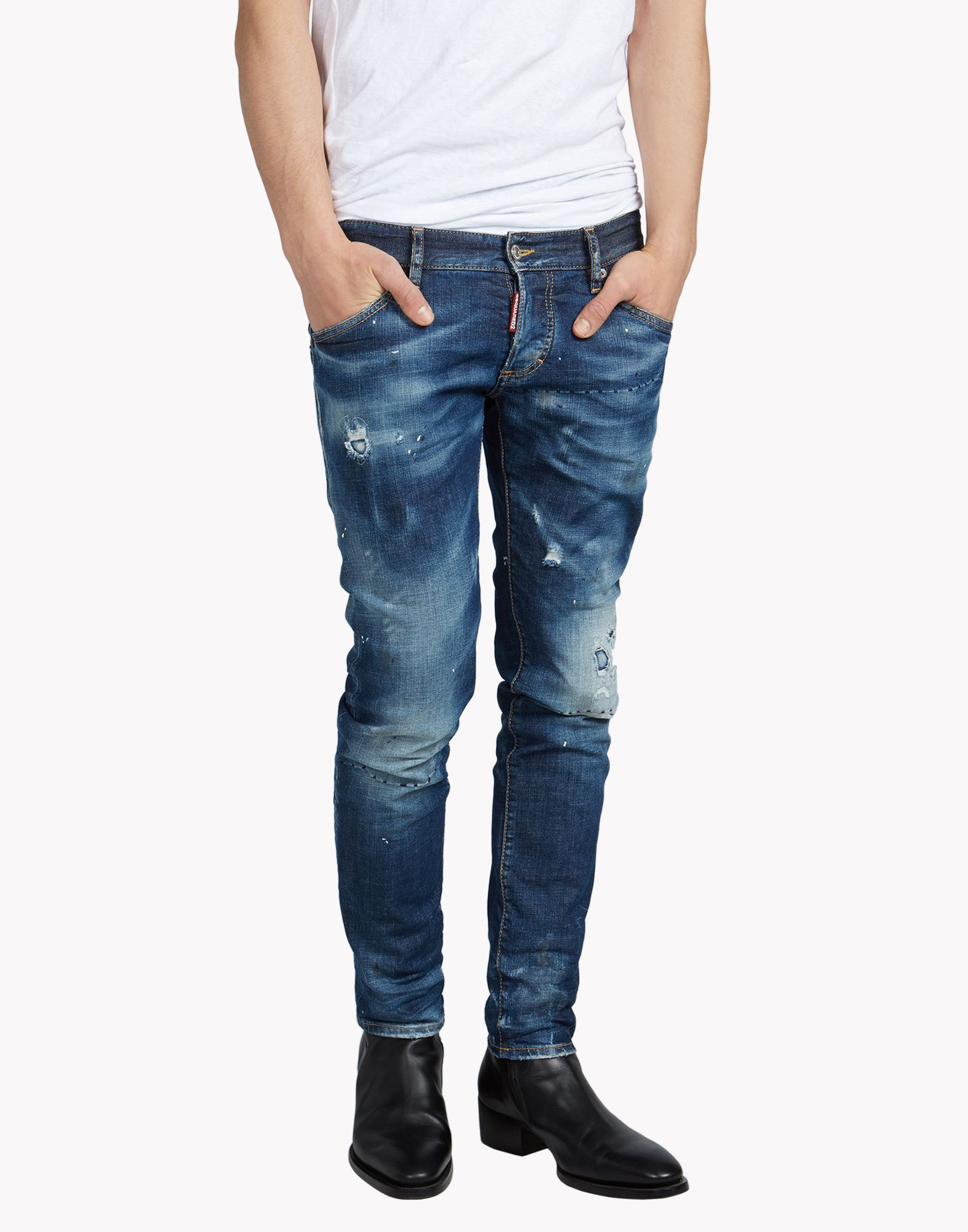 52949cdc2 Clement Jeans - Jeans Men - Dsquared2 Official Online Store