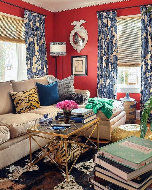 """I loveeclecticinteriors. My old home is more European in style but is still a curatedeclecticmix of antiques and not a """"period"""" hom..."""