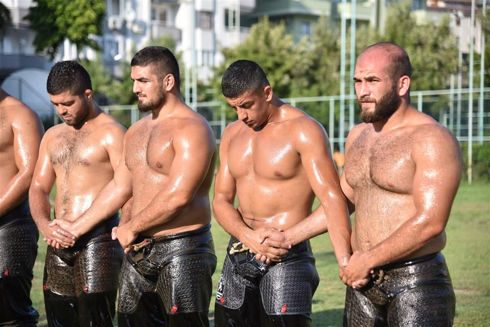 Turkish Oil Wrestling // Love this Sport | Masculine Men